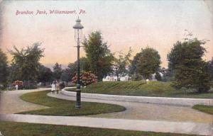 Pennsylvania Williamsport Brandon Park 1907