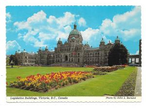 Canada Victoria BC Legislative Buildings Vtg Postcard 4X6 Photo John Barnard