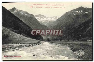 Old Postcard Luchon Vallee Du Lys And Torrent