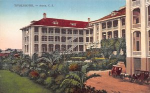 Tivoli Hotel, Ancon, Canal Zone, Early Postcard, Unused