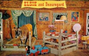 Advertising - Borden's Family of Fine Foods. Elsie & Beauregard