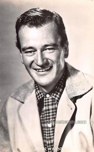 John Wayne Movie Star Actor Actress Film Star Postcard, Old Vintage Antique P...