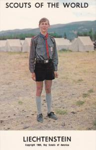 Boy Scouts of the World, LIECHTENSTEIN, 1960´s