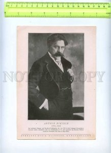 230154 Arthur NIKISCH Hungarian Conductor vintage POSTER