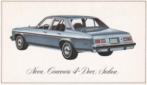 CHEVROLET, 1970'S; Nova Concours 4-Doors Sedan