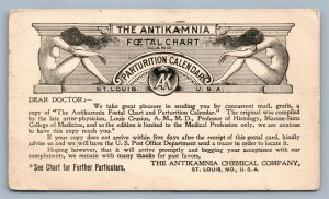 1899 CHEMICAL COMPANY MEDICAL ADVERTISING PIONEER ANTIQUE POSTCARD ST.LOUIS MO