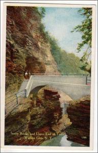 Sentry Bridge & Upper End Tunnel, Watkins GlenNY