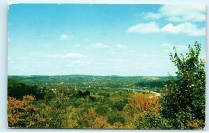 Meadville PA French Creek Valley Ray Smock Memorial Bridge Vintage Postcard D98