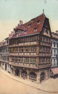 Altes Haus, Maison Kammerzell, Strassburg (Bas Rhin), France, PU-1908