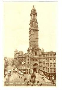 Cathcart Square & Municipal Buildings, Greenock, Scotland, UK, 1910-1920s