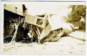 Bridgeport CT Railroad RR Train Wreck Real Photo RPPC Postcard 3