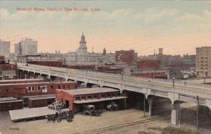 Iowa Des Moines Seventh Street Viaduct 1914