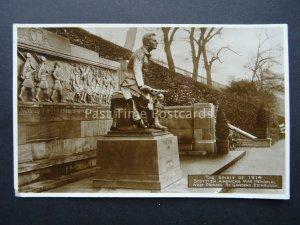 Edinburgh THE SPIRIT OF 1914 SCOTTISH AMERICAN WW1 WAR MEMORIAL 1927 RP Postcard