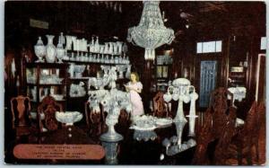 St. Augustine, FL Postcard Famed Crystal Room in Lightner Museum of Hobbies