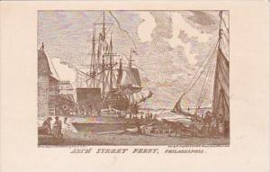 Pennsylvania Philadelphia Founders Week Arch Street Ferry