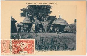 AOF Ivory Coast - Côte d'Ivoire -  POSTAL HISTORY: Ethnic Postcard 1933