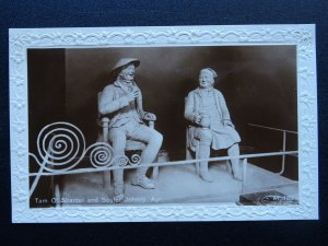 Scotland Ayr TAM O' SHANTER & SOUTER JOHNNIE Shoemaker Robert Burns Old Postcard