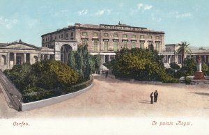 CORFU , Greece , 1900-10s ; Le Palais Royal