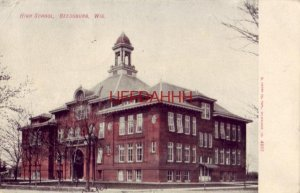 190? HIGH SCHOOL, REEDSBURG, WI