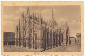 Italy, Milan, Milano, Duomo, The Cathedral,unused Postcard
