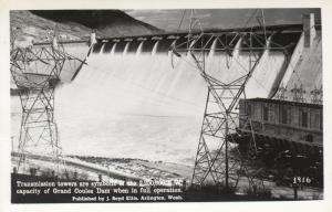 RP: COULEE DAM , Washington, PU-1954; Transmission towers