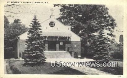 St. Benedict's Church - Conimicut, Rhode Island