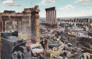 BAALBECK, Lebanon; Temple de Jupiter, PU-1911