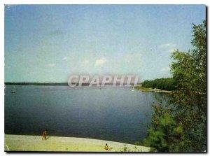 Postcard Modern Gizycko Jezioro Khajno