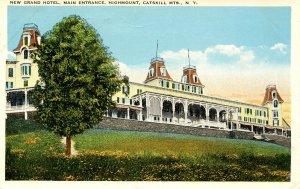 NY - Highmount, Catskills. New Grand Hotel