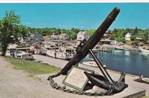 TOBERMORY, Ontario, Canada, 1940-60s; Little Tub Harbour, Giant Anchor