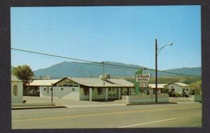 AZ El Rancho Motel Jack Welch GLOBE ARIZONA POSTCARD