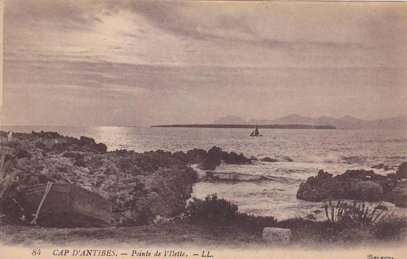 CAP D´ANTIBES, Pointe de l'Ilette, Antibes, Alpes Maritimes, France, 00-10s
