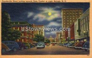 Fayetteville Street in Raleigh, North Carolina