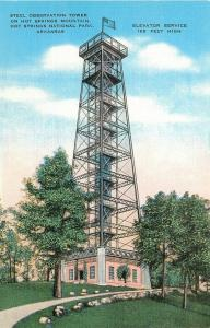 AR, Hot Springs National Park, Arkansas, Steel Observation Tower, Edward H. M...