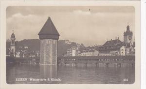 Switzerland Luzern Wasserturm & Guetsch Photo