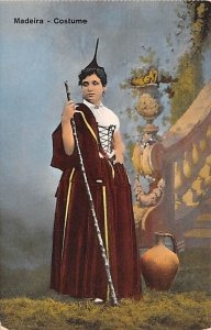 Costume Madeira Spain Unused