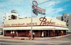 Florida Miami Beach Parham's Restaurant 73rd and Collins Avenue