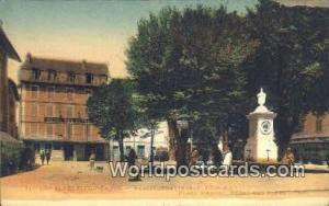 Les Alpes Pittoresque, France, Carte, Postcard Place Manuel Les Alpes Pittore...
