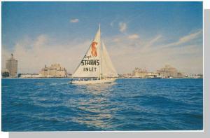 Atlantic City, New Jersey/NJ Postcard,Cpt Starn's Restaurant