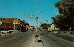 RAWLINS , Wyoming , 50-60s ; Main Street
