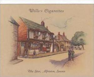 Wills Cigarette Card 2nd Series No 31 The Star Alfriston Sussex