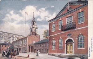 TUCK #2258, Independence Hall, PHILADELPHIA, Pennsylvania, 00-10s
