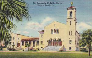 Community Methodist Church Daytona Florida Curteich