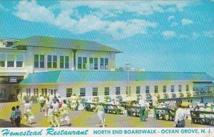 New Jersey Ocean Grove Original Homestead Restaurant North End Of Boardwalk 1957