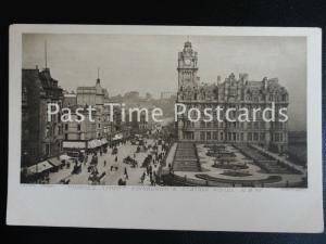 c1902 - Edinburgh & Station Hotel, Princes Street, N.B.RY. - Undivided Back