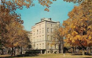 Quincy Illinois~Soldiers & Sailors Home~Administration Building~1950s Postcard