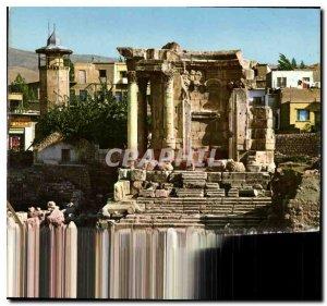 Postcard Modern Lebanon Baalbek Temple of Venus