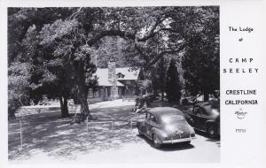 RP: CRESTLINE , California , 30-40s; Lodge at Camp Seeley : FRASHERS F-3753