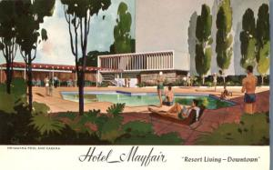 Swimming Pool at Hotel Mayfair - Los Angeles CA, California