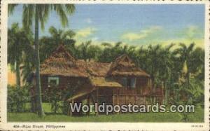 Philippines, Pilipinas Nipa House Nipa House